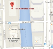 10 S. Riverside Plaza Map
